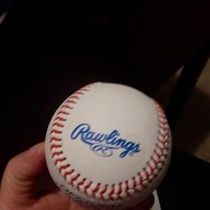 Kids Rawlings base ball and A soft foot ball